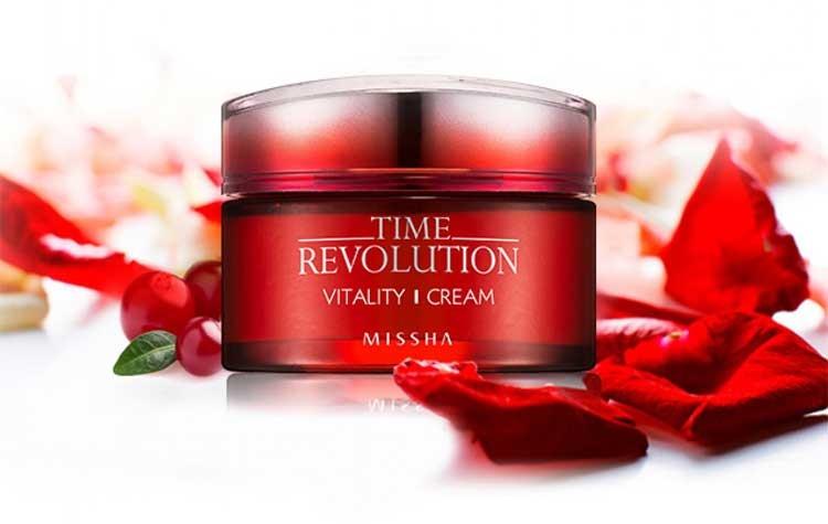 Картинки по запросу Missha Time Revolution Vitality Cream