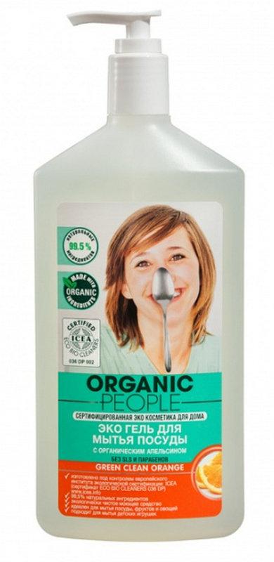 Купить гель для мытья посуды чистый дом